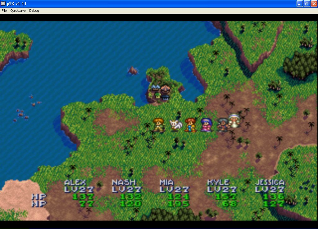 Map Usa Game%0A Screenshot Thumbnail   Media File   for Lunar Silver Star Story Complete   ccd